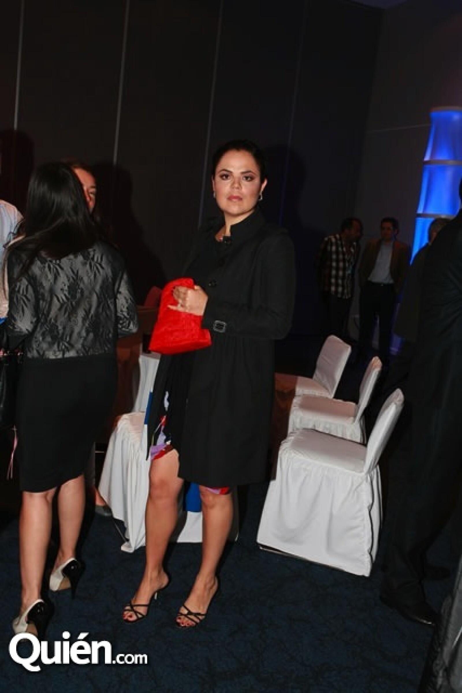 Mariana Gómez del Campo acudió al evento acompañada de su novio, el empresario Eduardo Solórzano.