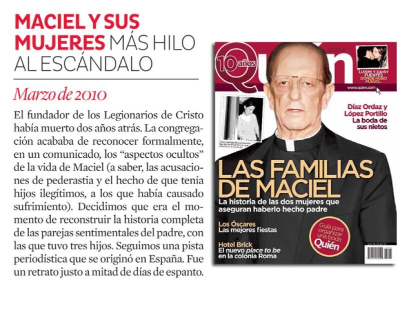 Marcial Maciel y su vida en familia se expuso.