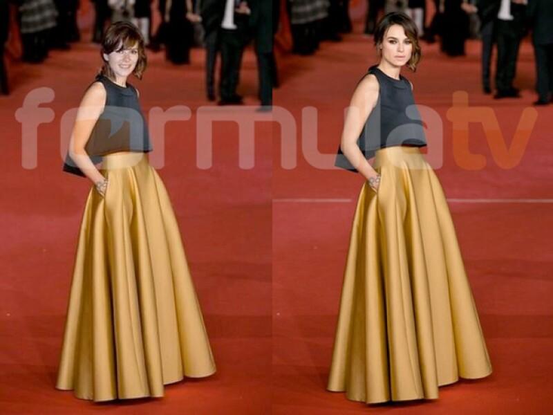 Anna Allen se mostró como si estuviera en los Oscar 2014.
