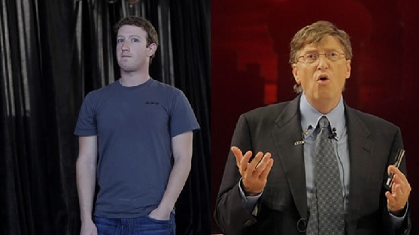 mark zuckerberg bill gates