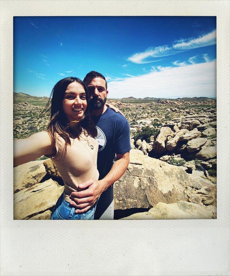 Ana de Armas y Ben Affleck.
