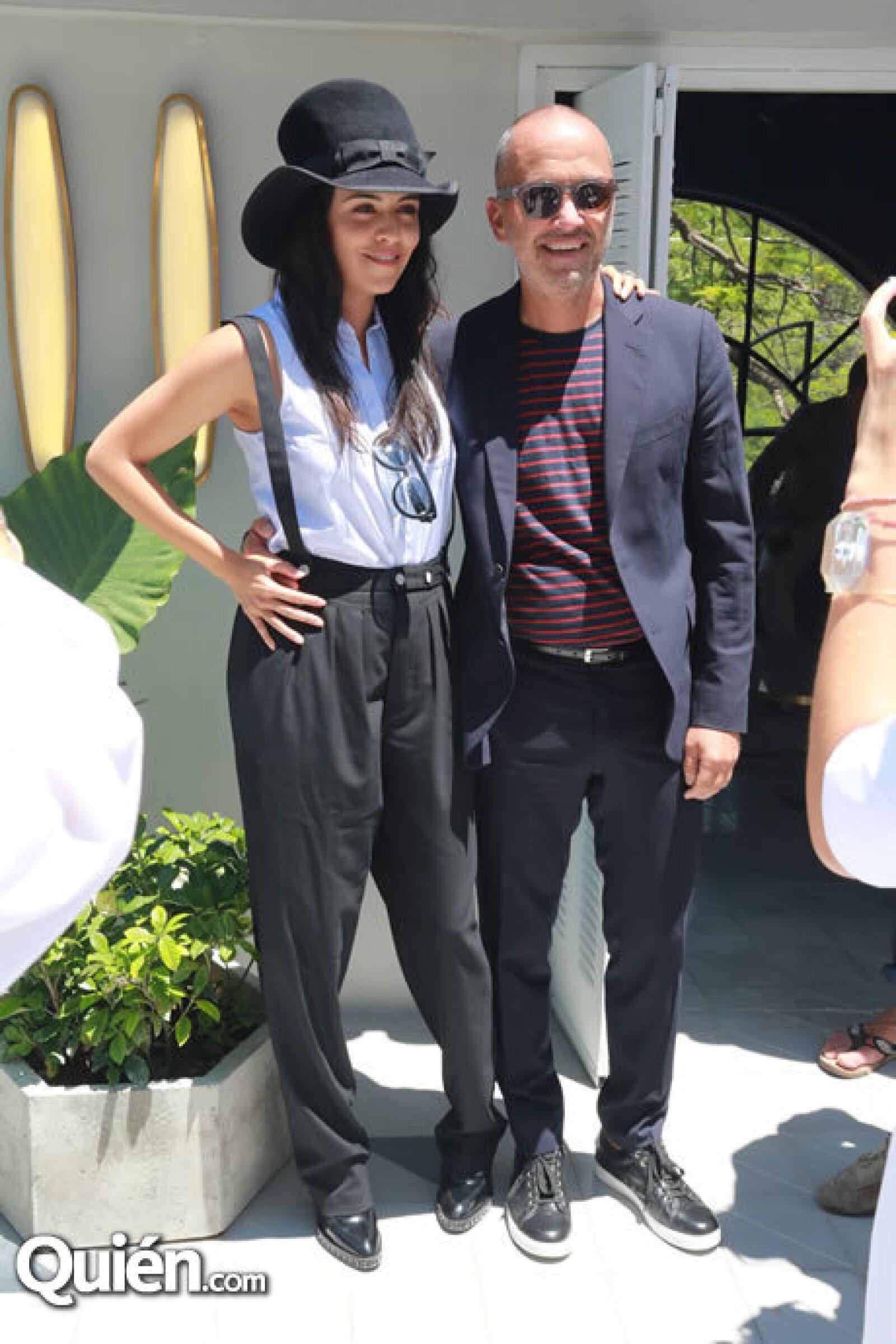 Olga Segura y Carlos Couturier