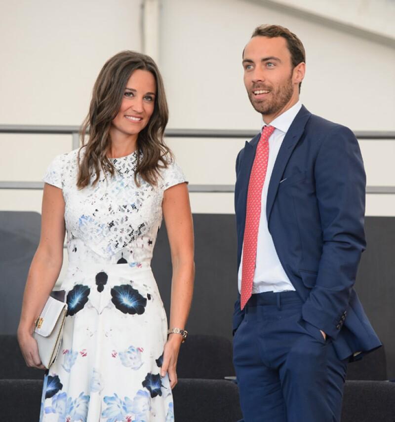 Suele siempre acompañar a su otra hermana Pippa Middleton, sobre todo a los partidos de tenis.