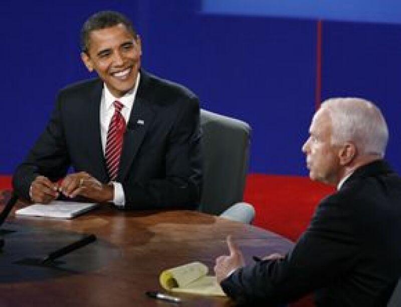 Los candidatos a la presidencia de EU se enfrentaron por última vez y la ventaja del demócrata fue evidente sobre McCain.