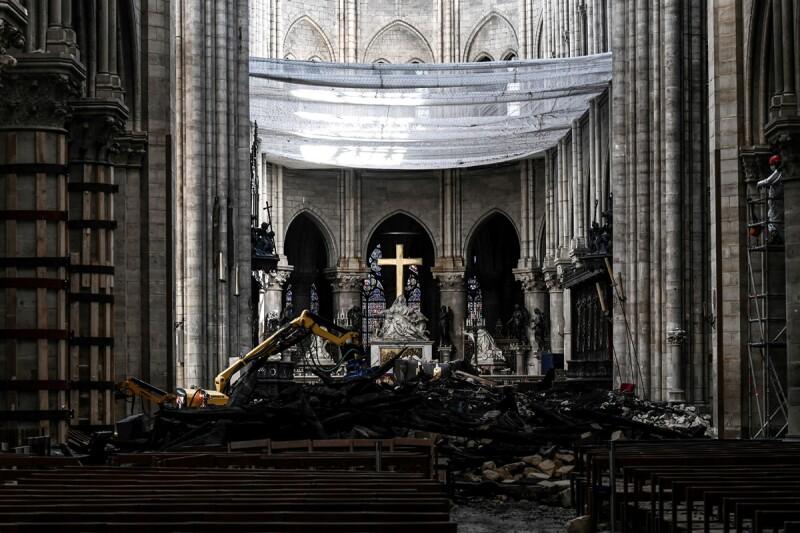 Notre Dame - Incendio - reconstrucción