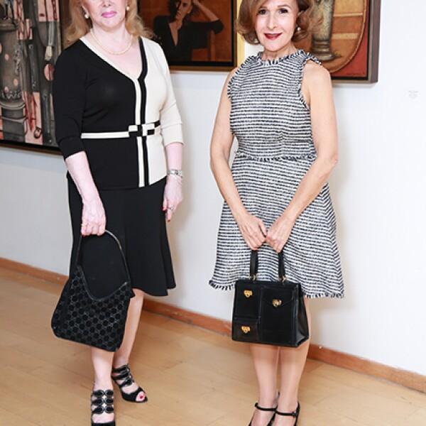 Lucila Araico y Adriana Tijerina