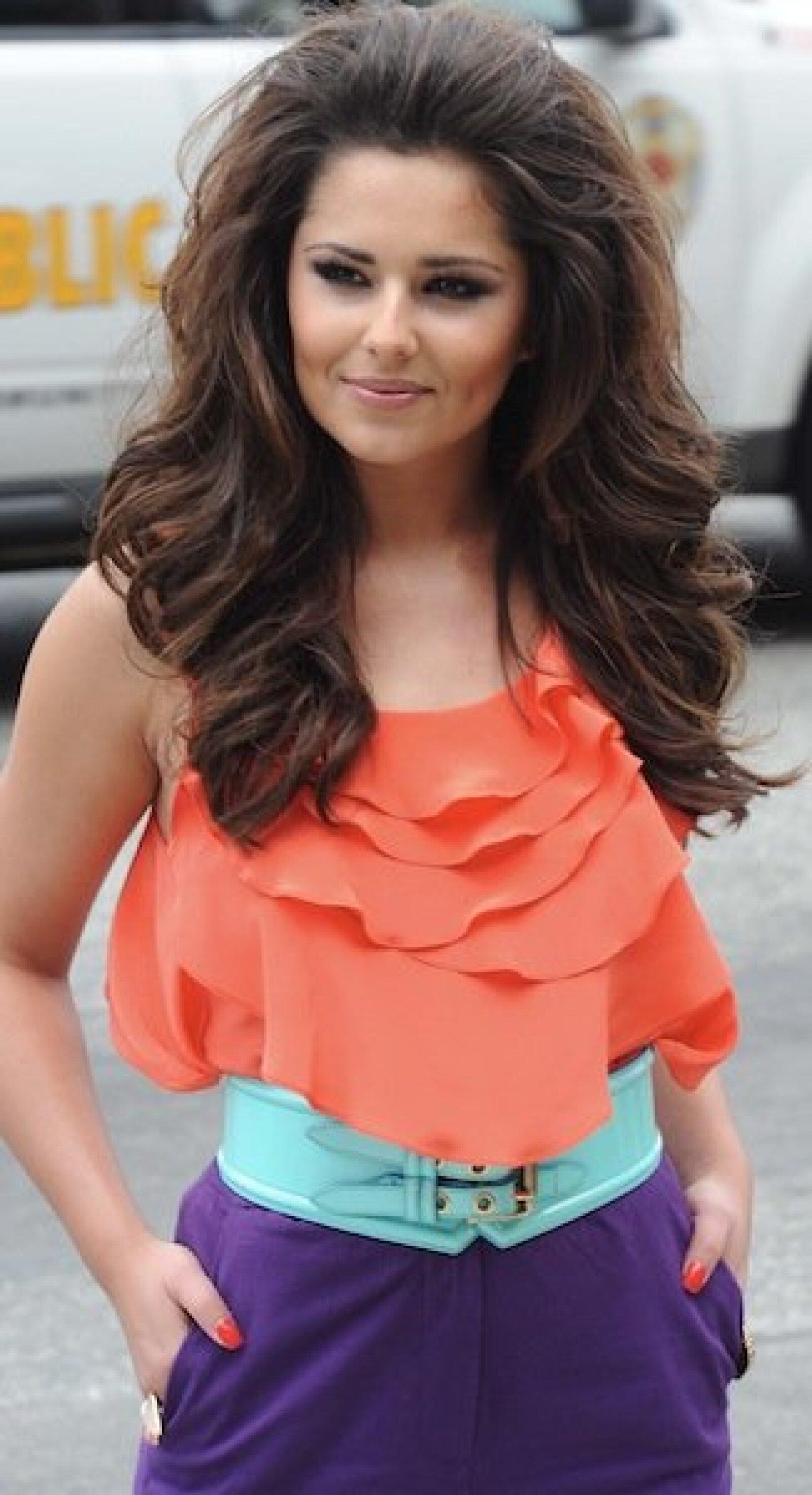La cantante británica Cheryl Cole.