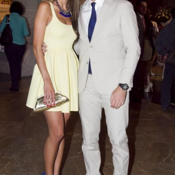 Cristina Bernal y Alan Tacher.