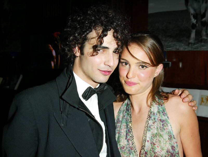 Zac Posen And Natalie Portman At New Year's Eve Party At Hudson Hotel
