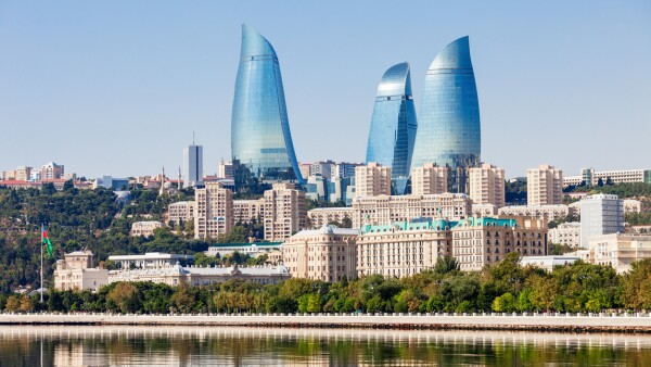 Baku's Flame Towers