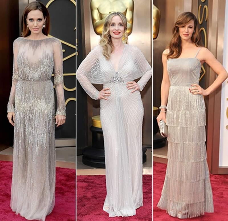 El Elie Saab de Angelina Jolie fue uno de nuestros favoritos.