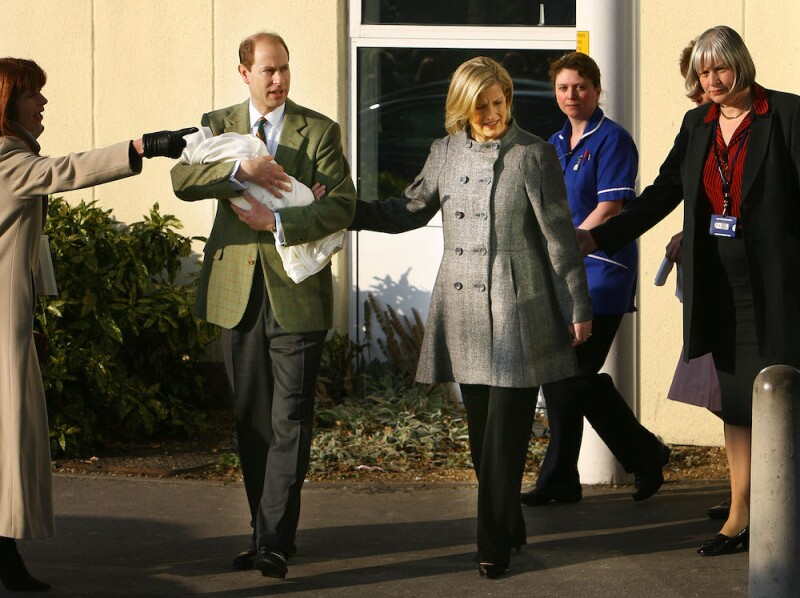 Prince Edward And The Countess Of Wessex Leave Hospital