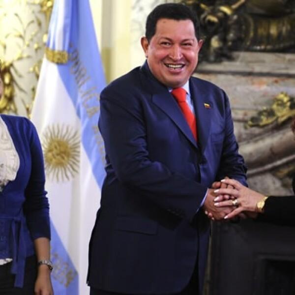 Chávez - Cristina Fernández - hija de Chávez