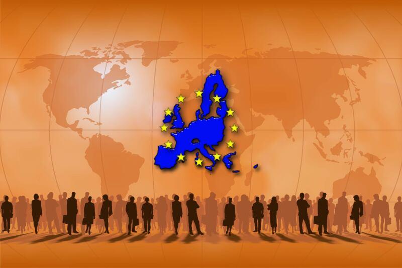 mapa union europea