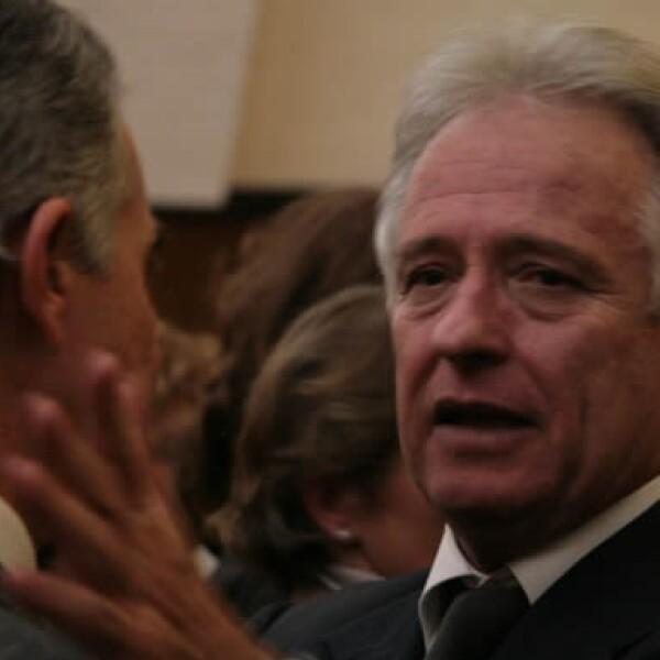 El empresario le agradeció su apoyo al ex candidato presidencial Roberto Madrazo Pintado.