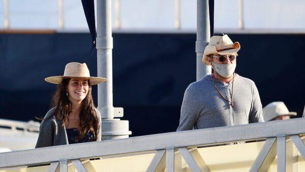 PREMIUM EXC Leonardo DiCaprio & Camila Morrone