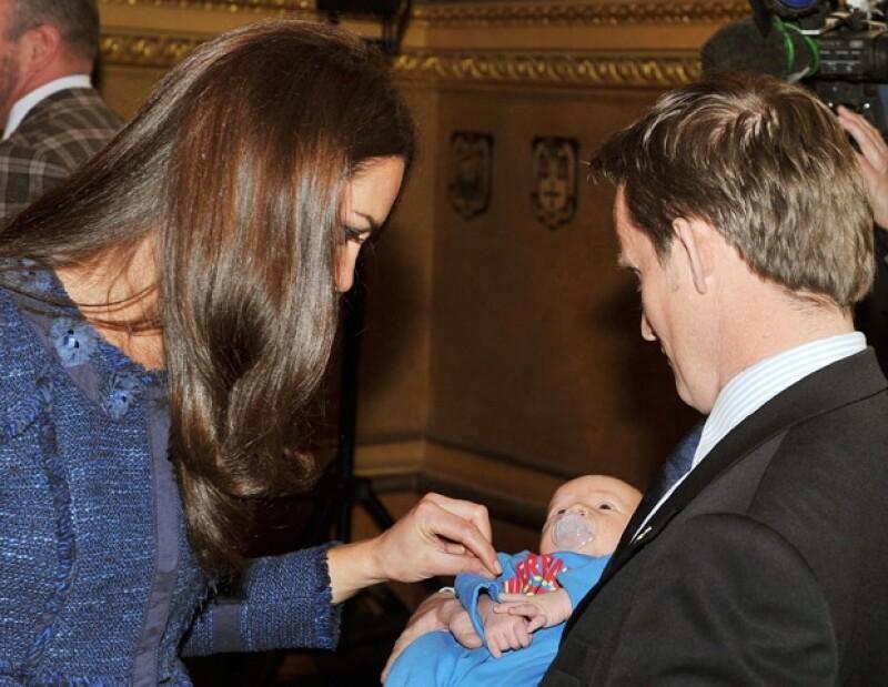 egún el padre del pequeño, la Duquesa consideró que Hugo era un bebé muy tierno.