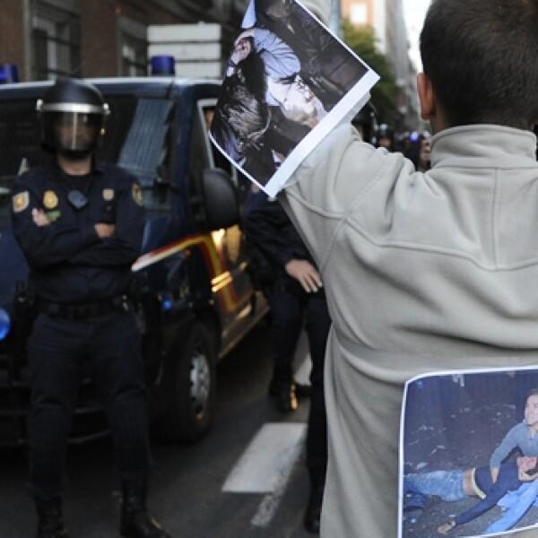 AFP- españa, segundo día de protestas