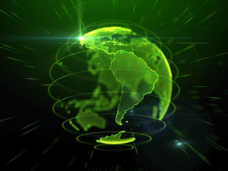 America latina  mapa mercados