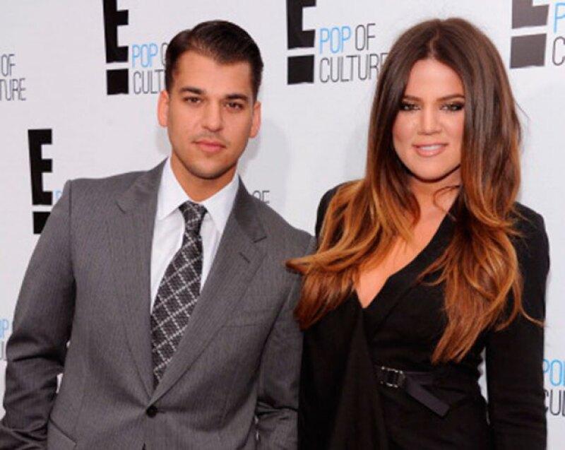 La menor de las Kardashian no pudo contenerse y aceptó su decepción al enterarse de que su hermano Rob esperaba su primer hijo con la polémica Blac Chyna.