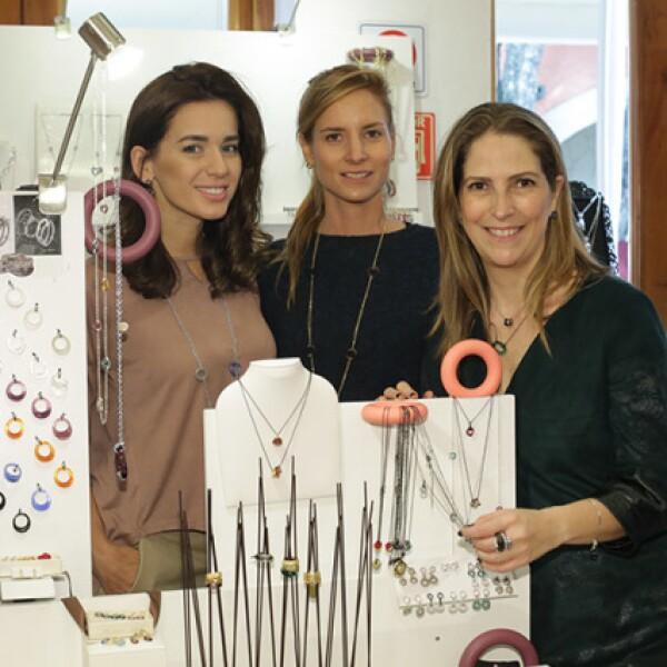 Vanessa Abreu,Pita León y Vanessa Drummond