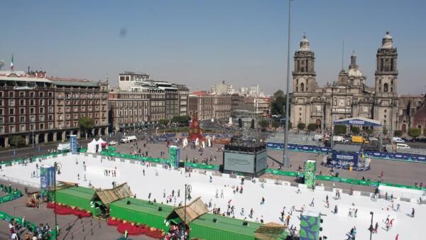 La CDMX ofrecerá, además de la pista de patinaje, diversos conciertos en delegaciones.