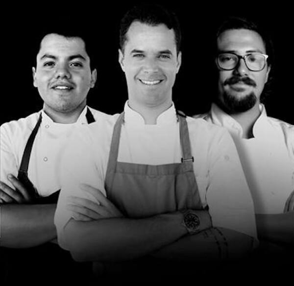Daniel Manzano, Pedro Abascal, Daniel Nates