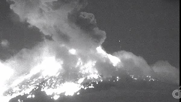 A pesar de la explosión en el Popocatépetl, autoridades no suspenderán clases