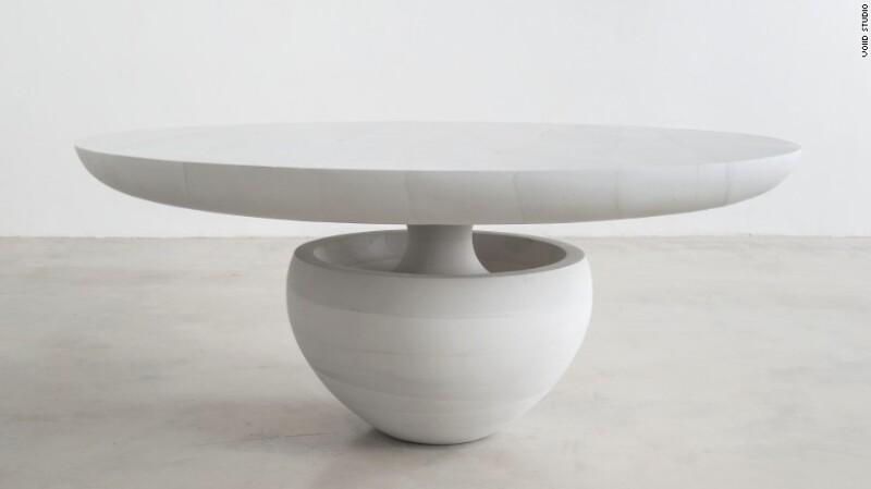 La mesa de comedor Ghost