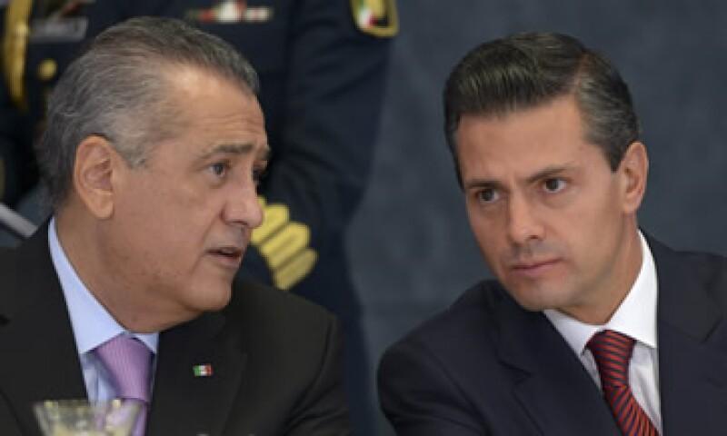 Beltrones –izq- asumió hace unos días la presidencia de la Jucopo. (Foto: Cuartoscuro)