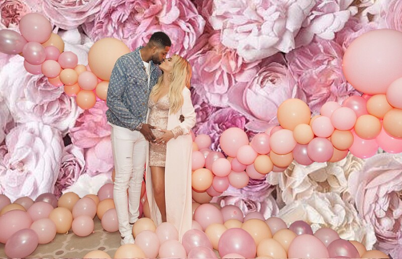 Khloe-Kardashian-Decoracion-Rosa