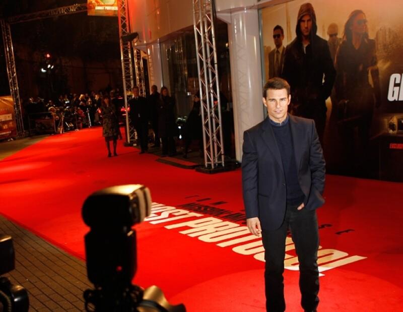 La cinta protagonizada por Tom Cruise sigue siendo la más vista en los cines de Estados Unidos y Canadá.