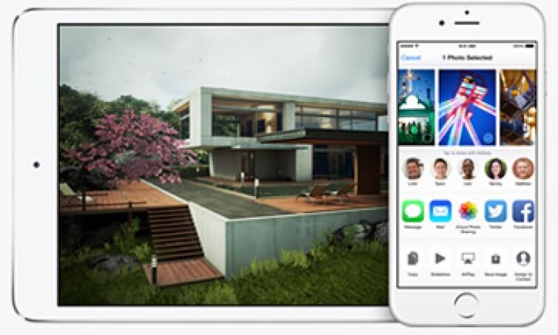 El nuevo iOS 8 tiene una función con la cual podrás mejorar tus fotos. (Foto: tomada de apple.com)