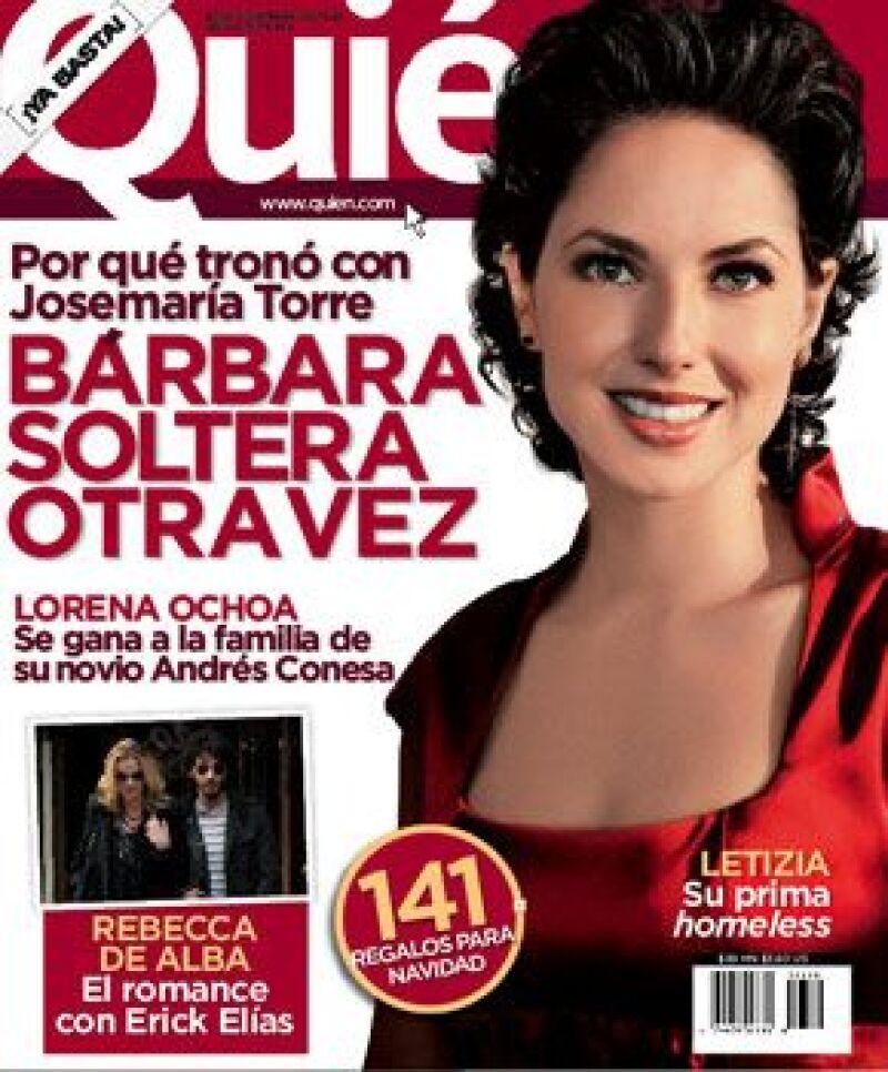 La edición 180 de la revista Quién está a la venta desde este lunes 8 de diciembre.