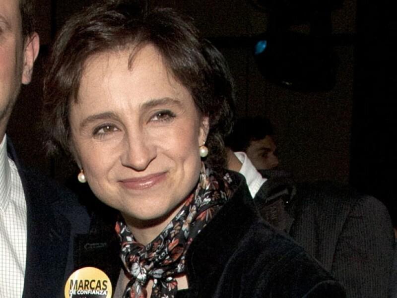 """Esta mañana la periodista de """"Aristegui Noticias"""" se defendió de las acusaciones que el día de ayer la conductora de """"Laura en América"""" lanzó contra ella."""