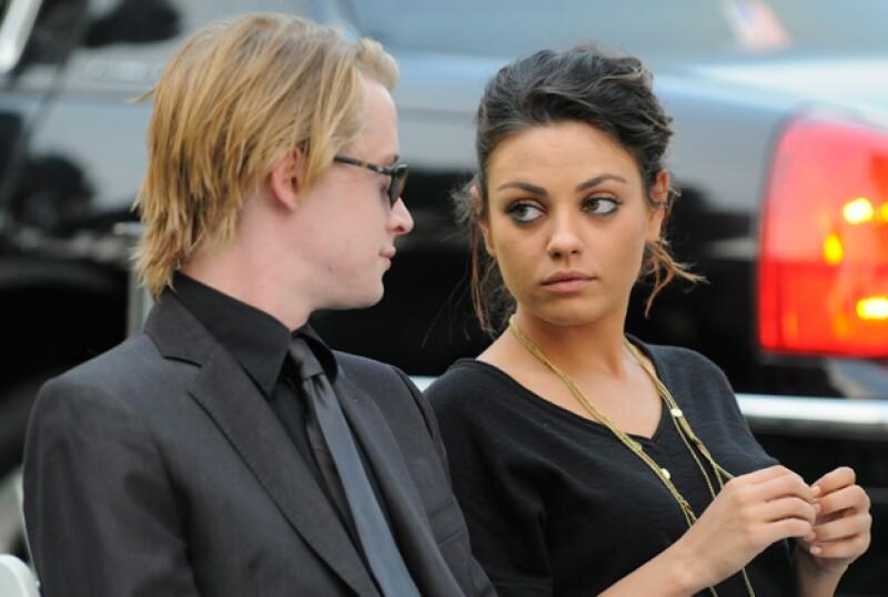 Esta fue la última vez que la pareja fue captada junta, en 2009.
