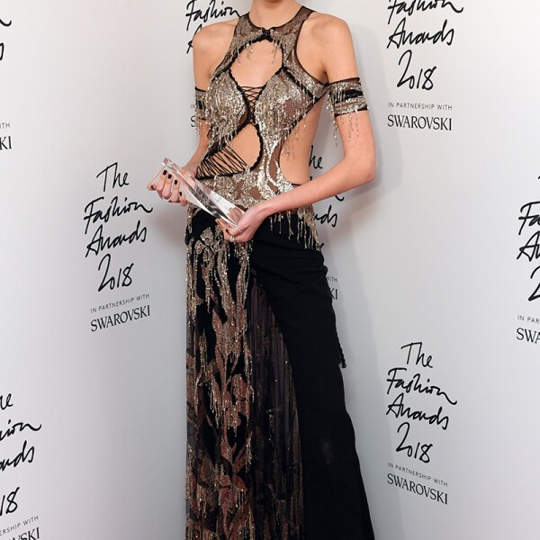 The British Fashion Awards, Press Room, Royal Albert Hall, London, UK - 10 Dec 2018