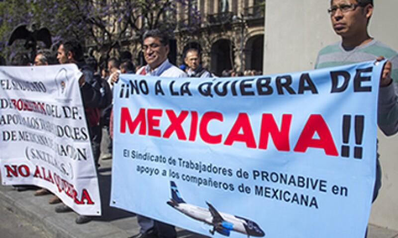 Mexicana de Aviación fue declarada en quiebra tras cuatro años de concurso mercantil. (Foto: Cuartoscuro)