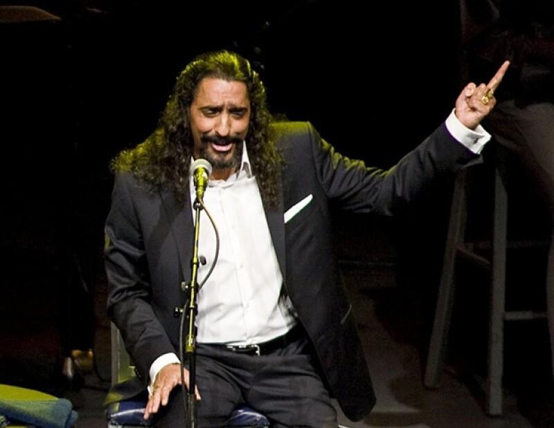 Diego interpretó temas del mexicano José Alfredo Jiménez (q.e.p.d).