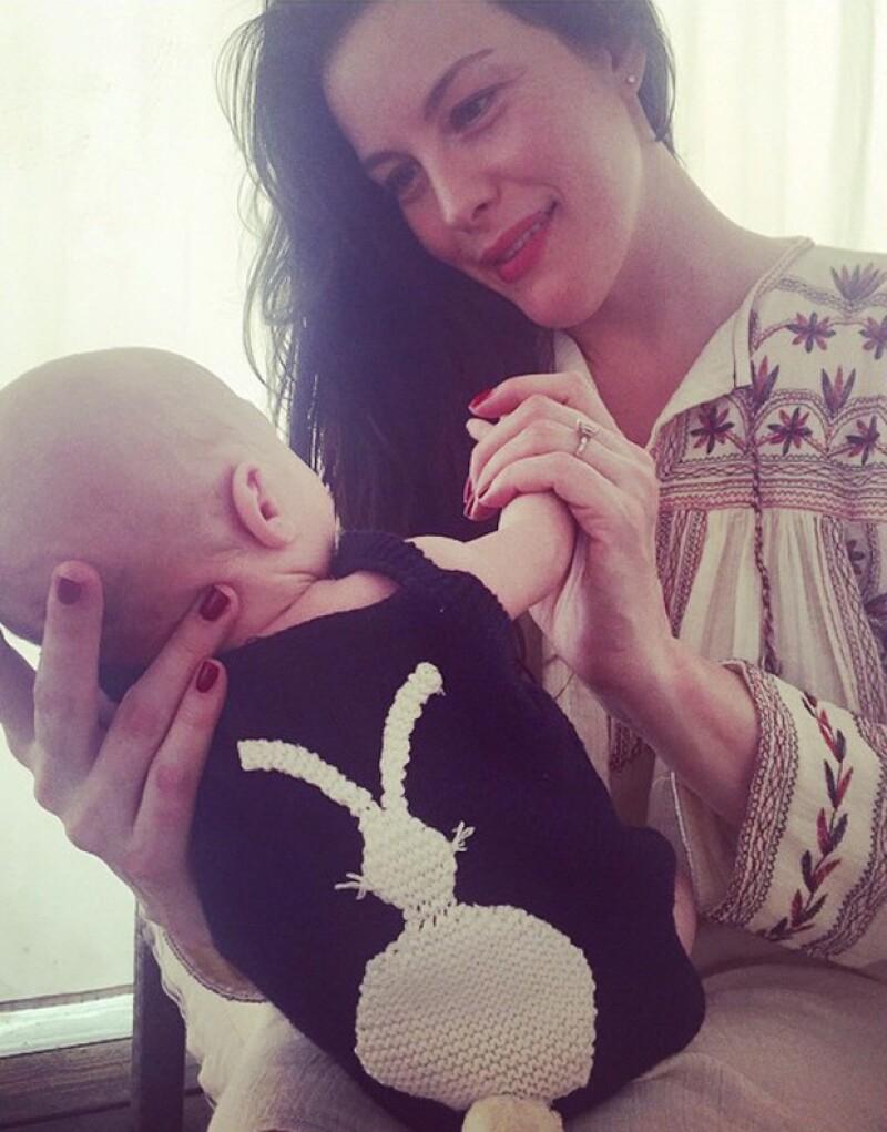 Fue a mediados de febrero de este año que Liv Tayler dio a luz al tierno Sailor.