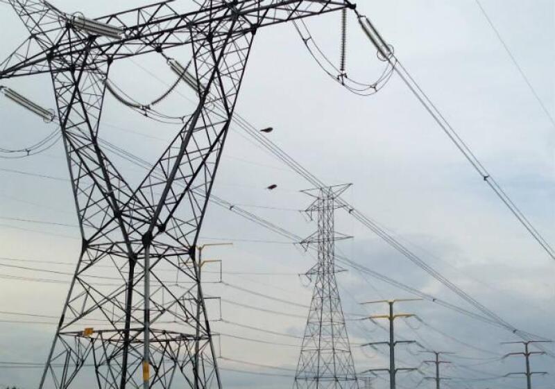 Torre de electricidad, energ�a el�ctrica