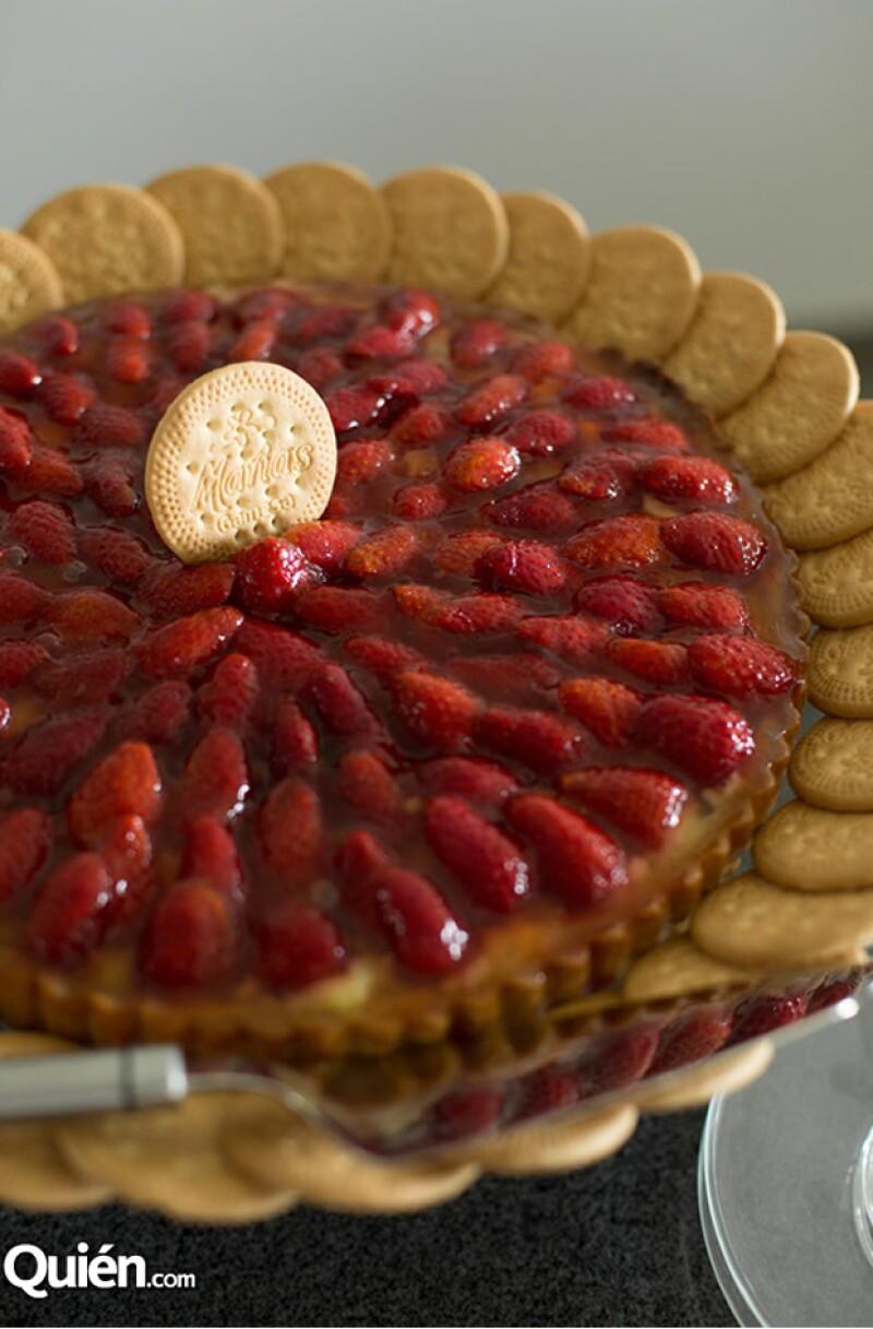 Para que disfrutes el Día de las Madres al máximo, te dejamos una receta para preparar una tarta con galletas Marías  Gamesa®.