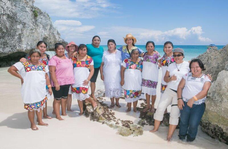 """La Fundación Vena Cava lleva a cabo en Yucatán el proyecto """"Casa de las Parteras"""", el cual promueve la salud reproductiva de las mujeres mediante el uso de prácticas tradicionales mayas."""