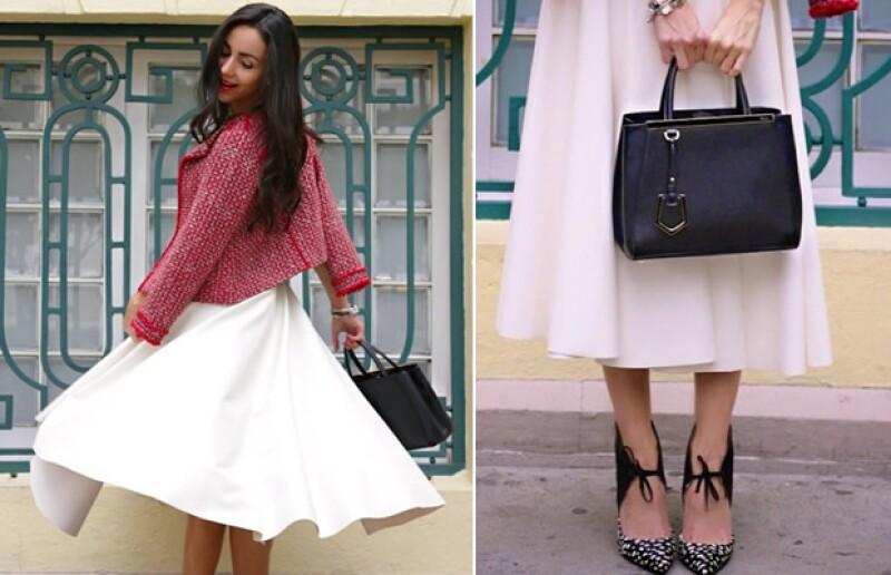Chantal Torres, creadora del blog &#39Our fashion diary&#39 compartió con nosotros diferentes outfits para asistir a una cita romántica en este San Valentín, ¿cuál es el ideal para tí?