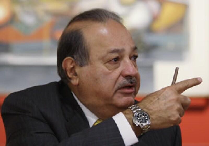 Carlos Slim dijo que el país ya ha pasado por lo más difícil de la recesión. (Foto: Archivo AP)