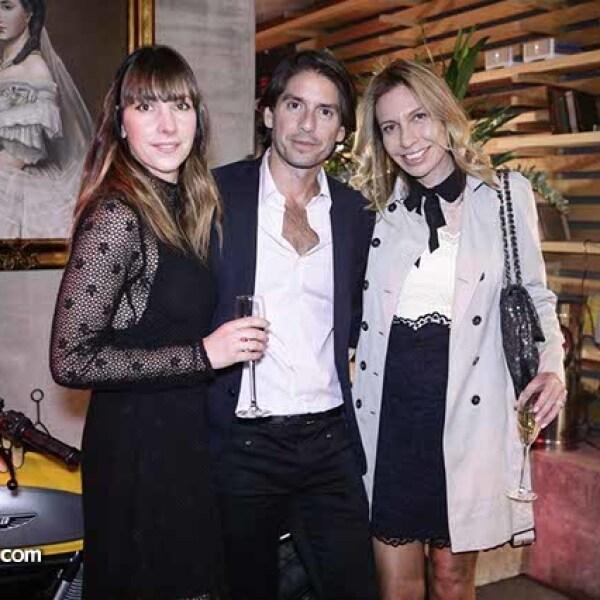 Venus Fabbricatore,Abelardo Marcondes y Paty hasseff