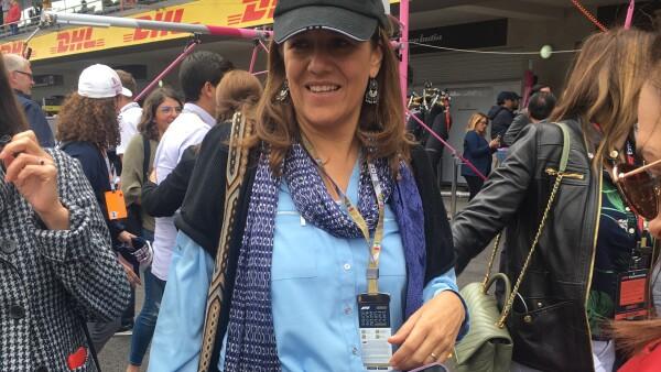 Margarita Zavala Gran Premio México 2