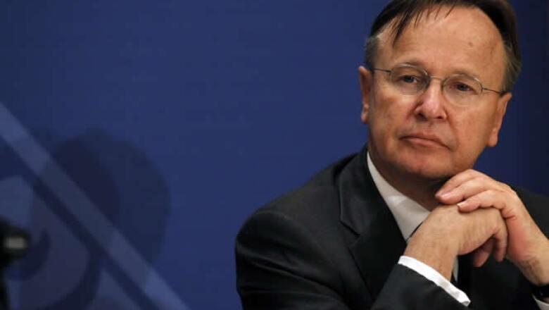 Svein Andresen, secretario general del Consejo de Estabilidad Financiera (FSB), organismo que dijo que dará a conocer el nivel de cumplimiento que tienen los países de las normas de Basilea III.