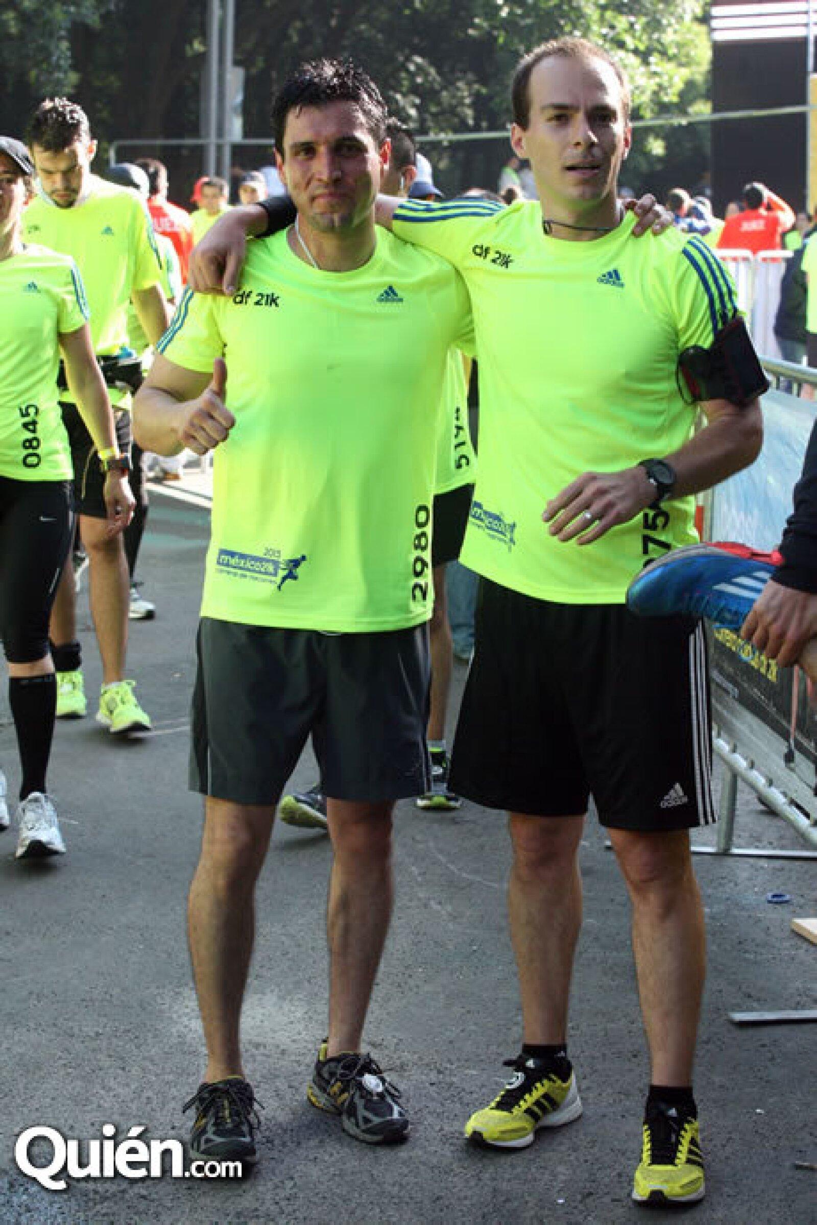 Bernardo Ortega y Jorge Gálvez