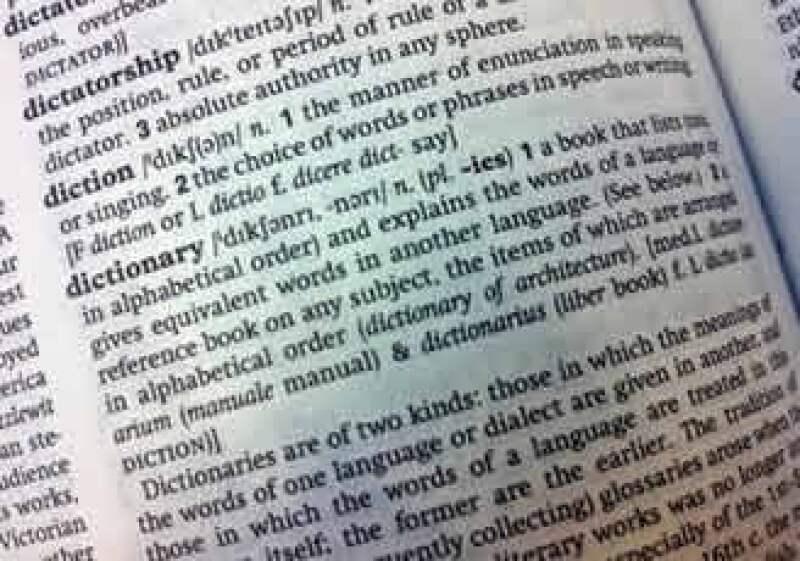 La primera edición del Diccionario de Inglés Oxford fue publicada en 1884. (Foto: AP)